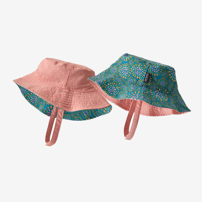 Patagonia Baby Sun Bucket Hat - Tencel Bloom: Joya Blue
