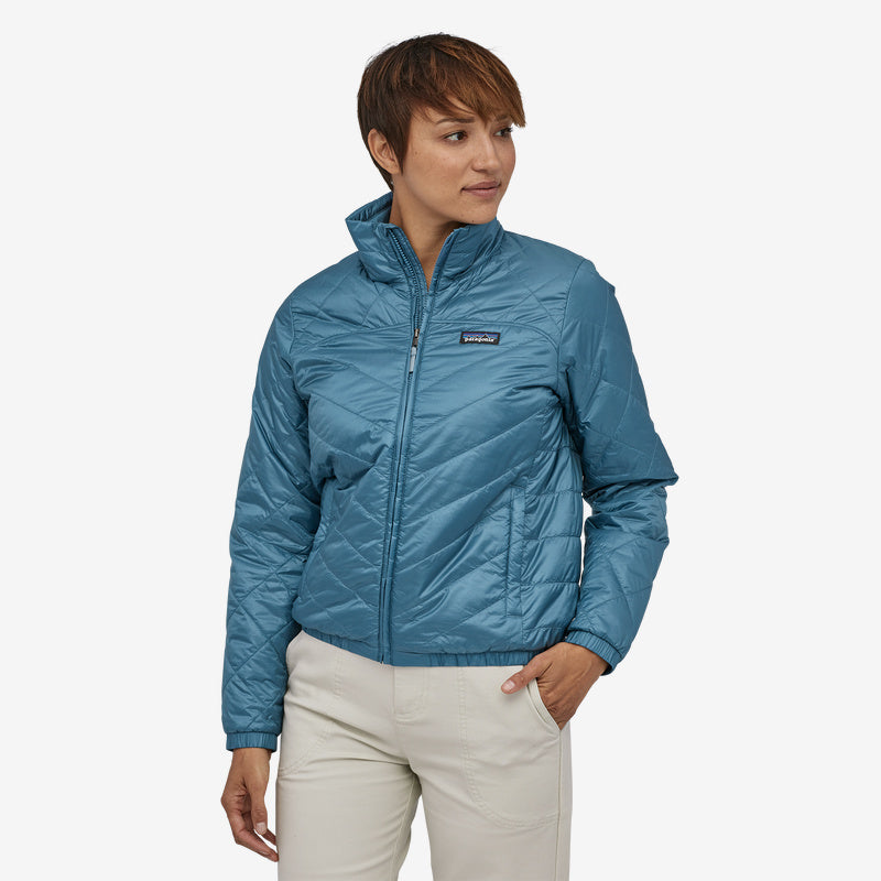 Patagonia Women's Lightweight Radalie Bomber Jacket - Pigeon Blue