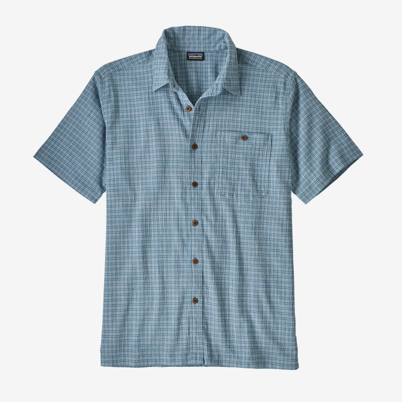 Patagonia Men's A/C® Buttondown Shirt -  Cultivator: Pigeon Blue