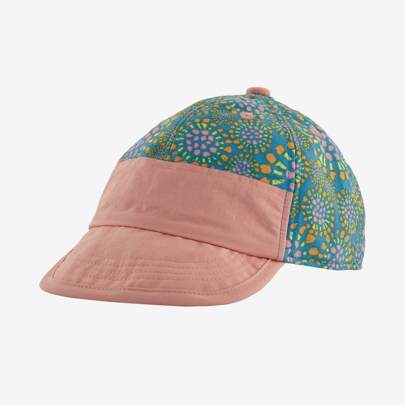 Patagonia Baby Baggies™ Cap - Tencel Bloom: Joya Blue