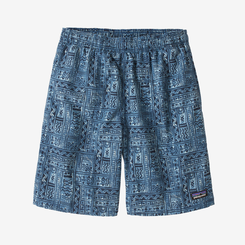Patagonia Boys' Baggies™ Shorts - Mud Paint: Stone Blue