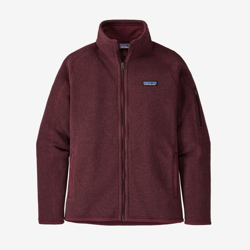 Patagonia Women's Better Sweater® Fleece Jacket -  Chicory Red