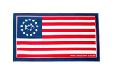 Southern Tide Grand Ole Flag Beach Towel - Red, White, and Blue