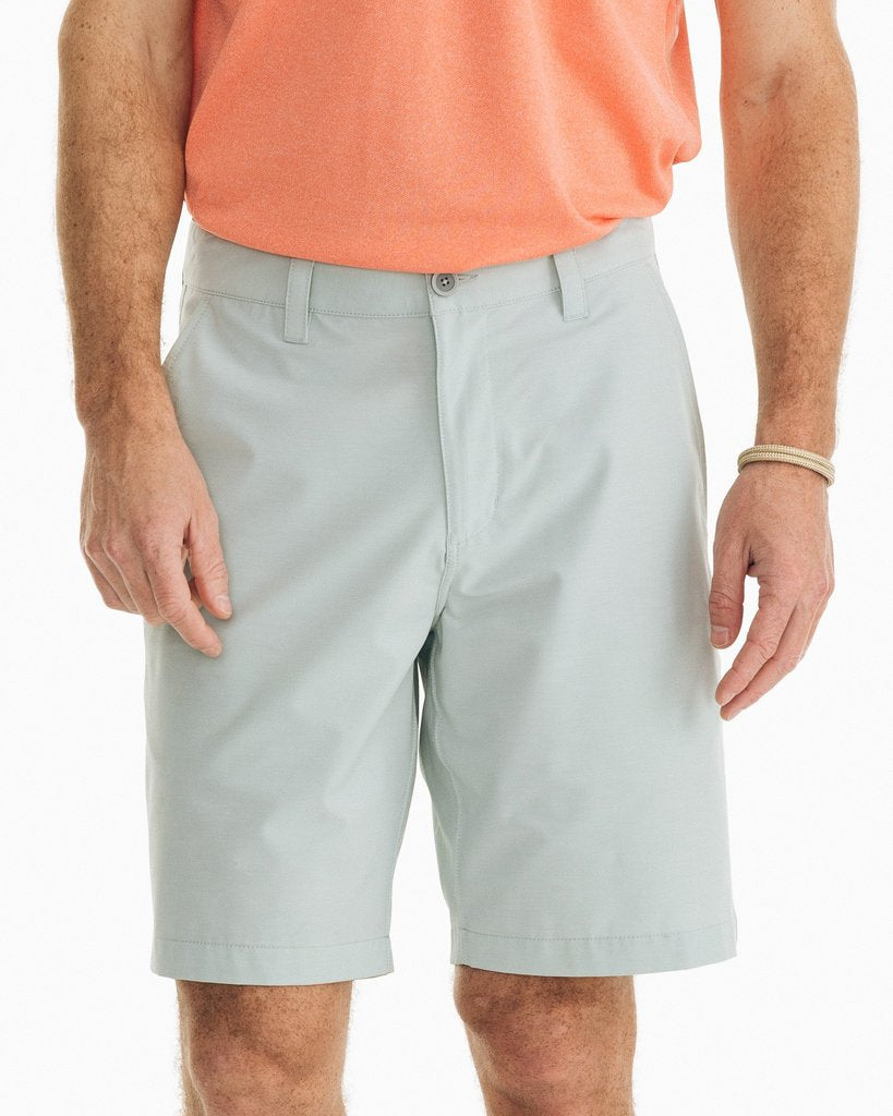 Southern Tide Heathered T3 Gulf Short - Heather Harbor Grey