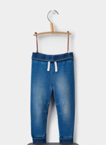 Joules Hugo Jersey Pants - Denim