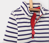 Joules Toddler Dale Sweatshirt - Navy Stripe