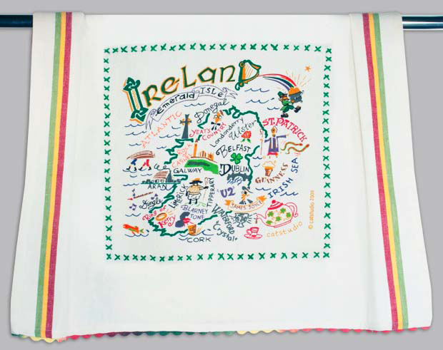 Catstudio Ireland Dishtowel