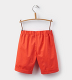 Joules James Boys Shorts - Red