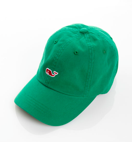 Vineyard Vines Whale Logo Baseball Hat - Juniper