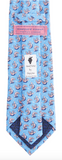 Vineyard Vines Lobster Roll Tie - Light Blue
