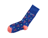 Vineyard Vines Lobster & Buoy Socks - Vineyard Navy