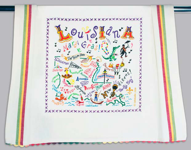 Catstudio Louisiana Dishtowel