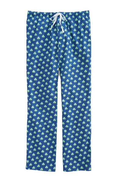 Vineyard Vines Shamrocks Lounge Pants - Moonshine