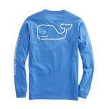 Vineyard Vines Long-Sleeve Vintage Whale Graphic Pocket T-Shirt - Marine