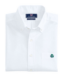 Vineyard Vines Lucky Clover Slim Tucker Shirt - White Cap