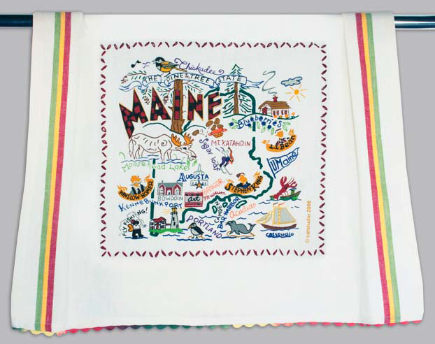 Catstudio Maine Dishtowel