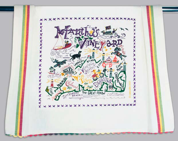 Catstudio Martha's Vineyard Dishtowel