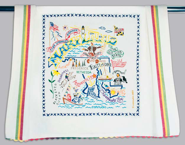 Catstudio Maryland Dishtowel