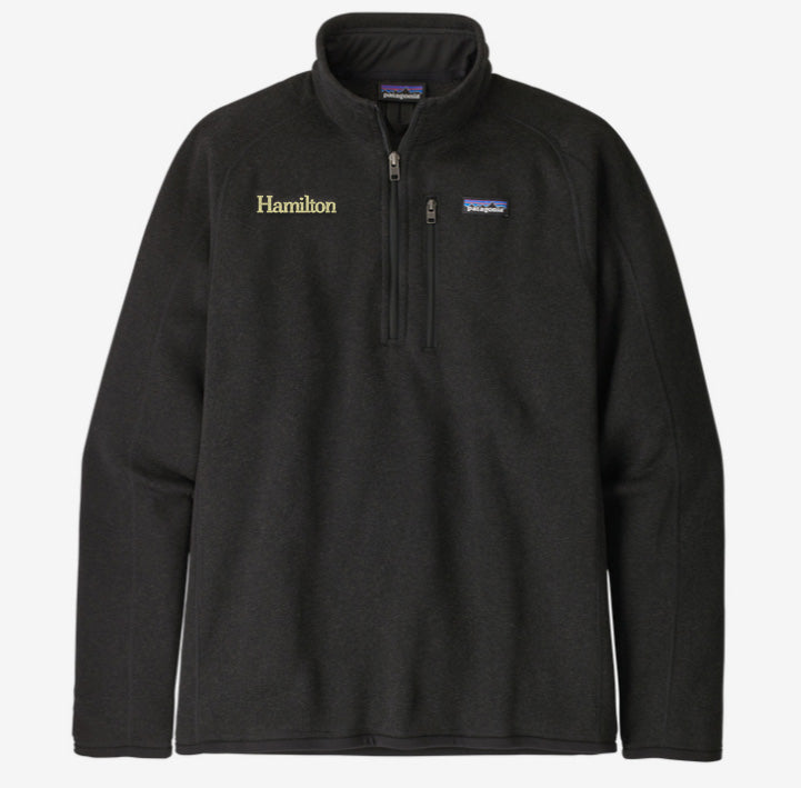 Hamilton Men's Better Sweater 1/4 Zip - Black
