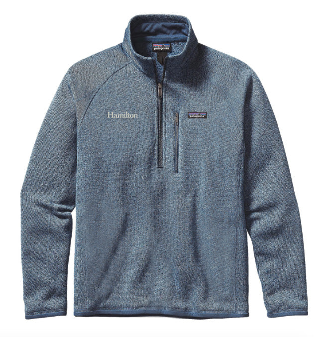 Hamilton Men's Better Sweater 1/4 Zip - CTY Blue