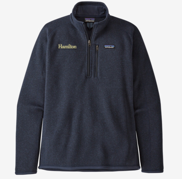 Hamilton Men's Better Sweater 1/4 Zip - Navy