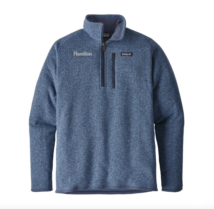 Hamilton Men's Better Sweater 1/4 Zip - RR Blue
