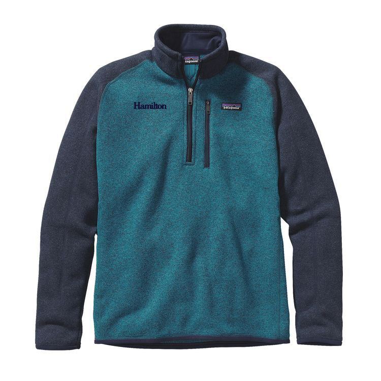 Hamilton Men's Better Sweater 1/4 Zip - UW Blue