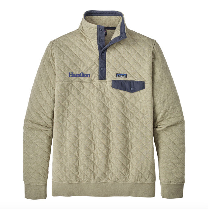 Hamilton Men's Cotton Quilt Snap-T® Pullover - Shale