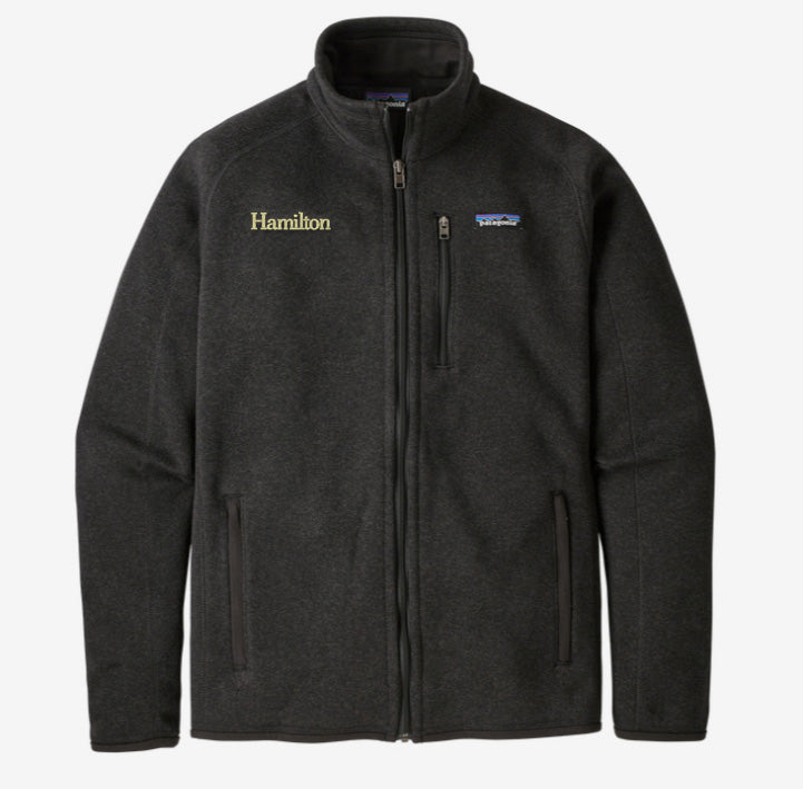 Hamilton Men's Better Sweater Full Zip - Black