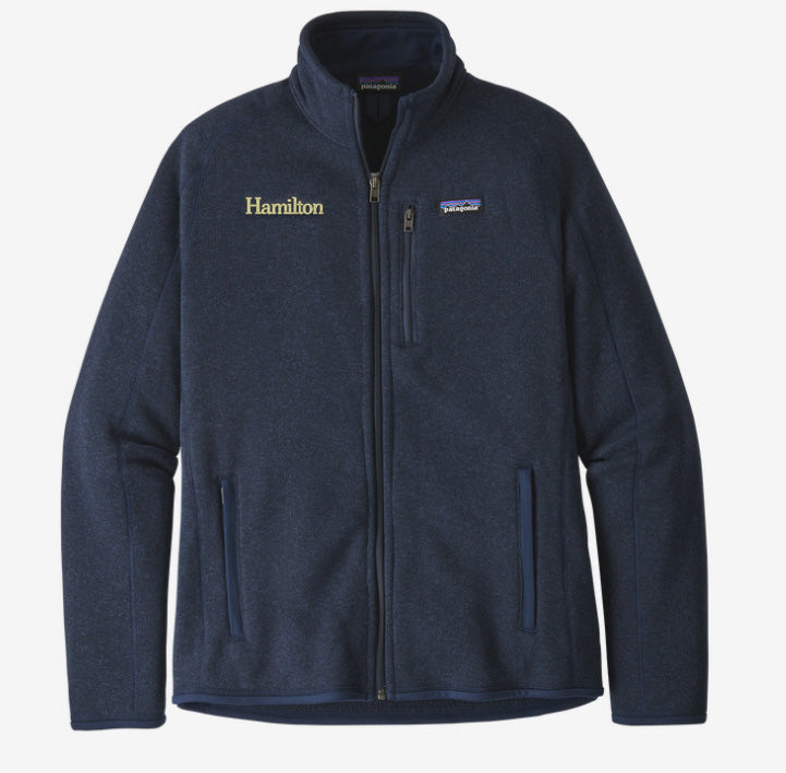 Hamilton Men's Better Sweater Full Zip - Navy