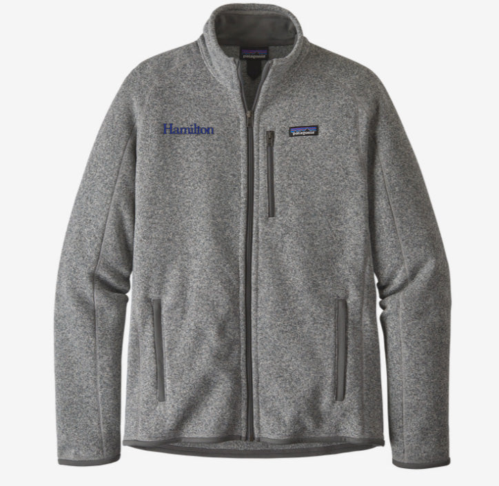 Hamilton Men's Better Sweater Full Zip - Grey
