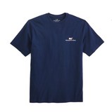 Vineyard Vines Men's Logo Graphic T-Shirt - Vineyard Navy