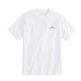 Vineyard Vines Men's Logo Graphic T-Shirt - White Cap