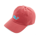 Vineyard Vines Needlepoint Whale Hat - Jetty Red