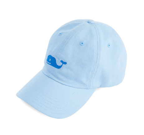 Vineyard Vines Needlepoint Whale Hat - Surf Blue