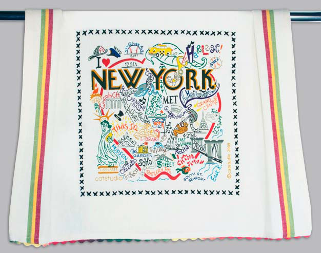 Catstudio New York City Dishtowel