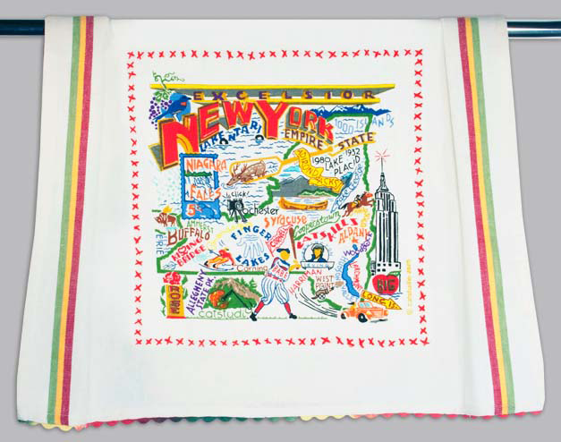 Catstudio New York State Dishtowel