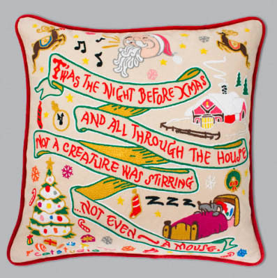 Night Before Christmas Catstudio Pillow
