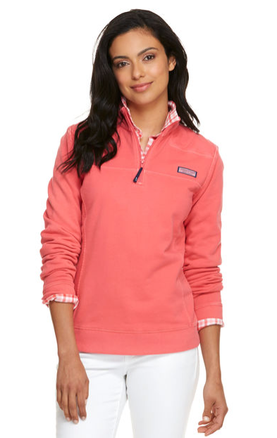 Vineyard Vines Overdyed Shep Shirt - Jetty Red