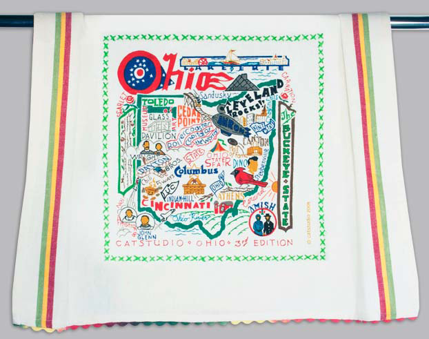 Catstudio Ohio Dishtowel
