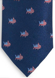 Southern Tide Oh Say Can You Sea Tie - True Navy