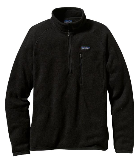 Patagonia Men's Better Sweater® Fleece 1/4-Zip - Black