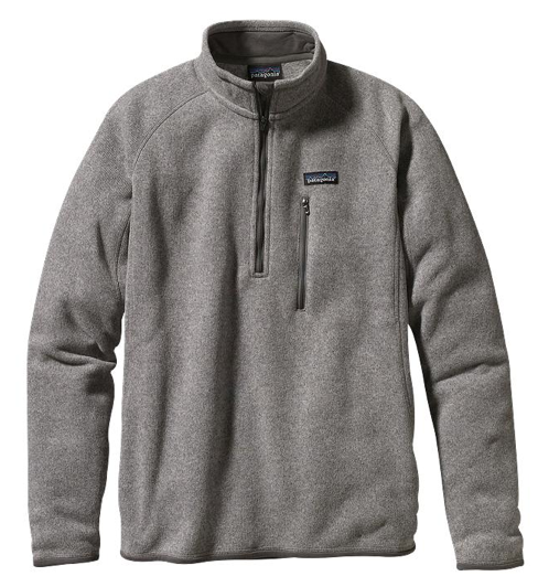 Patagonia Men's Better Sweater® Fleece 1/4-Zip - Stonewash