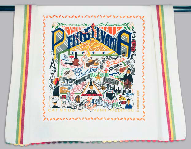 Catstudio Pennsylvania Dishtowel