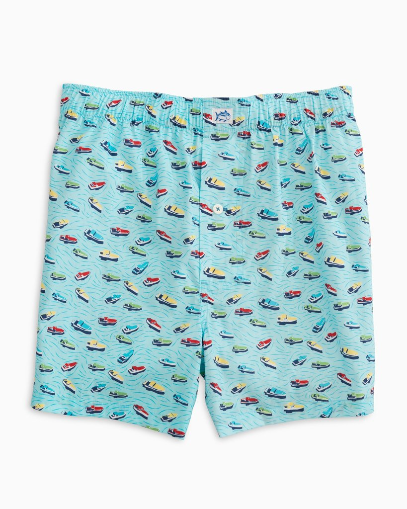 Southern Tide Ready to Dock Boxer - Aegean Blue