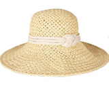 Barbour Sealand Straw Hat - Natural