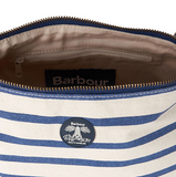 Barbour Sealand Washbag (Dopp Kit) - Navy/Ecru Stripe