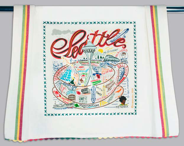 Catstudio Seattle Dishtowel