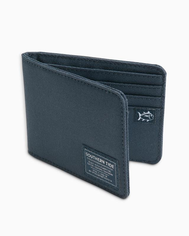 Southern Tide Canvas Wallet - True Navy