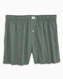 Southern Tide Straight Shooter Boxer - Duck Green